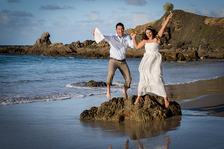 Byron Bay Elopement Photography