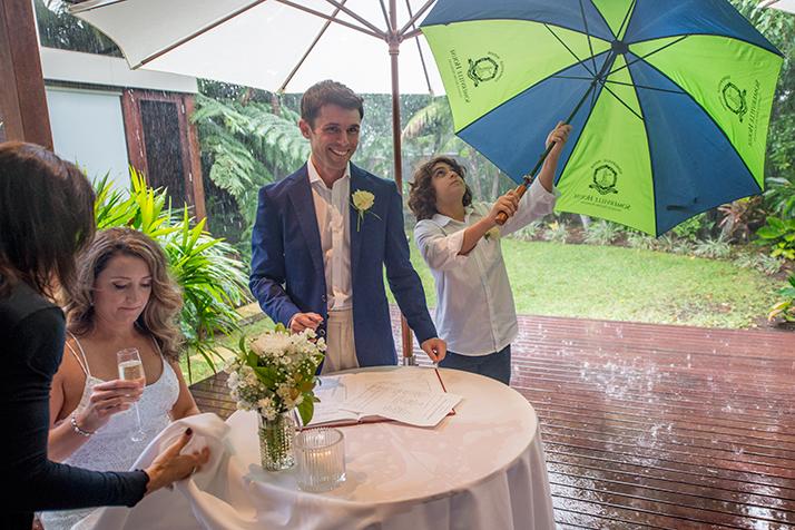 Byron Bay fun Wedding Photographer