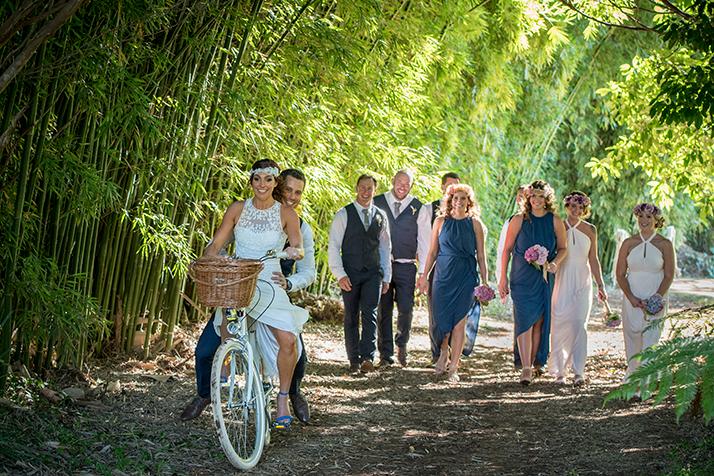 Byron hinterland wedding