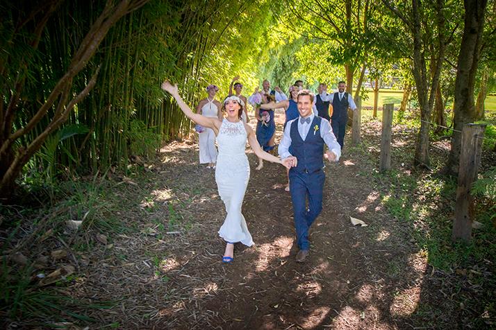 Tintenbar wedding photo