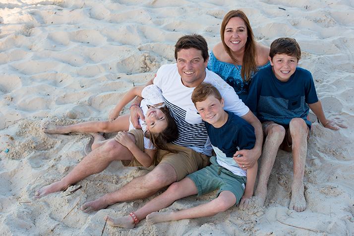 byron bay family portraits