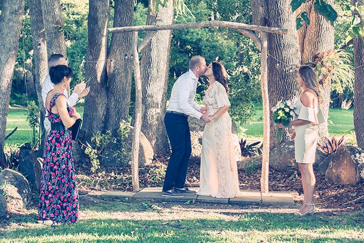 Aaron & Margot wedding photos at Ewingsdale near Byron Bay